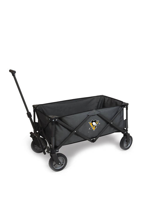 NHL Pittsburgh Penguins Adventure Wagon Portable Utility Wagon