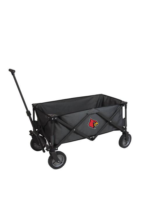 NCAA Louisville Cardinals Adventure Wagon Portable Utility Wagon
