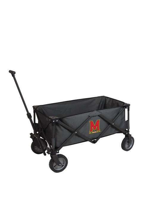 NCAA Maryland Terrapins Adventure Wagon Portable Utility Wagon
