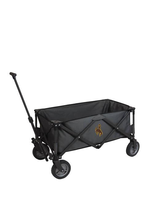 NCAA Wyoming Cowboys Adventure Wagon Portable Utility Wagon