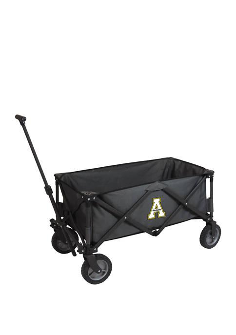 NCAA App State Mountaineers Adventure Wagon Portable Utility Wagon