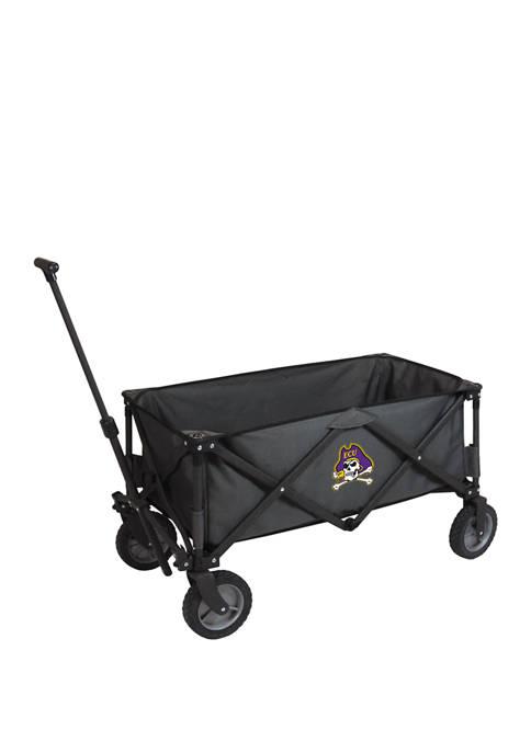 NCAA East Carolina Pirates Adventure Wagon Portable Utility Wagon