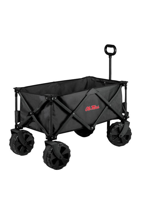 NCAA Ole Miss Rebels Adventure Wagon Elite All Terrain Portable Utility Wagon