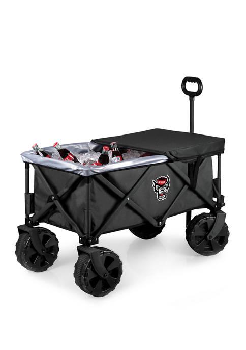 NCAA NC State Wolfpack Adventure Wagon Elite All Terrain Portable Utility Wagon