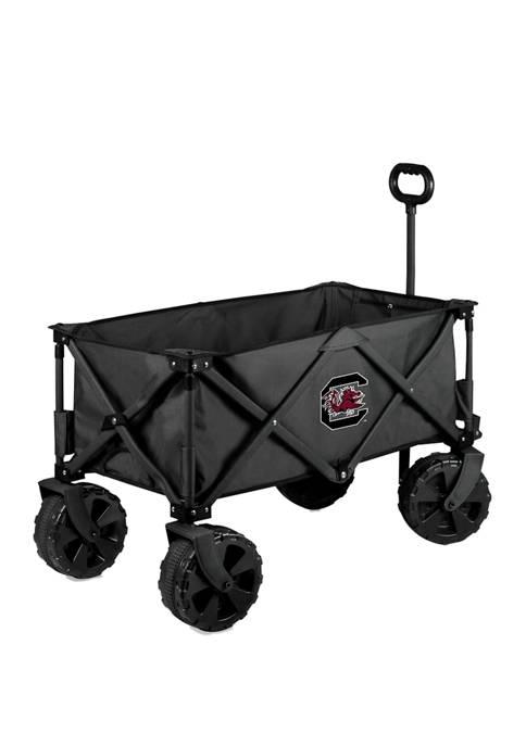 NCAA South Carolina Gamecocks Adventure Wagon Elite All Terrain Portable Utility Wagon