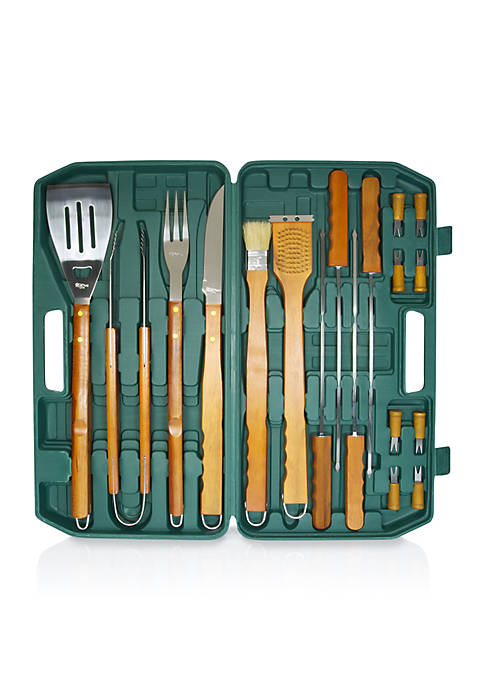 Picnic Time 18-Piece BBQ Tool Set