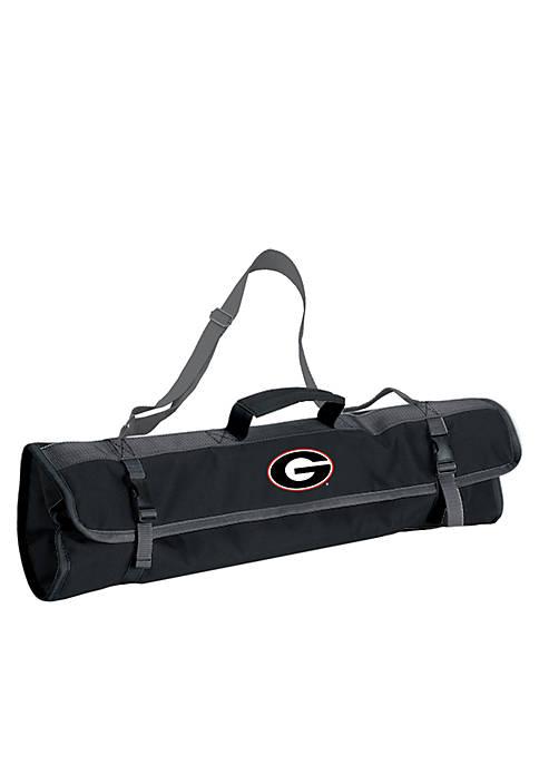 Georgia Bulldogs 3-Piece Tool Set and BBQ Tote