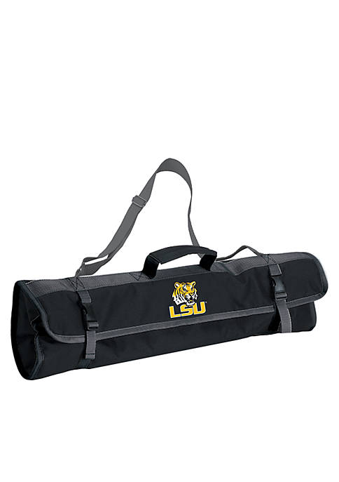 Picnic Time LSU Tigers 3-piece BBQ Tote