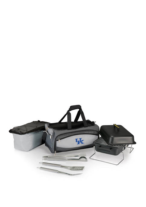 NCAA Kentucky Wildcats Buccaneer Portable Charcoal Grill & Cooler Tote