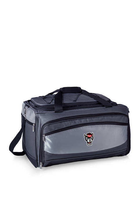 NCAA NC State Wolfpack Buccaneer Portable Charcoal Grill & Cooler Tote