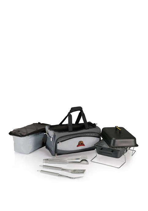 NCAA Cornell Big Red Buccaneer Portable Charcoal Grill & Cooler Tote