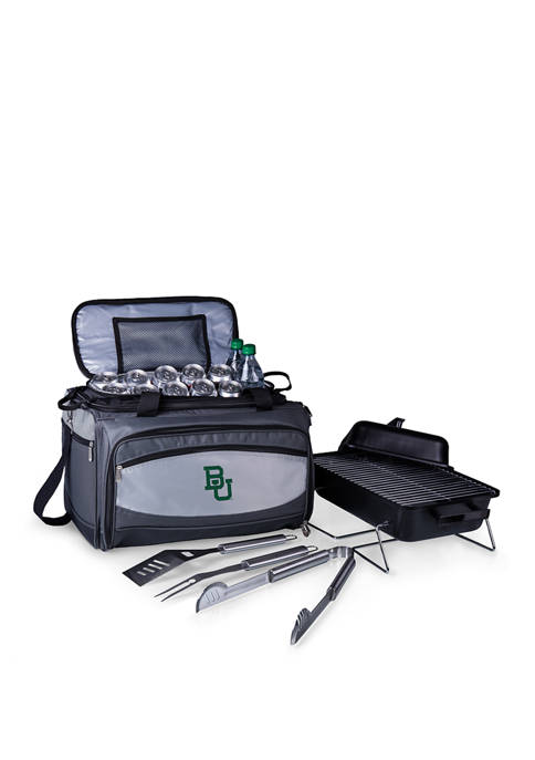 NCAA Baylor Bears Buccaneer Portable Charcoal Grill & Cooler Tote