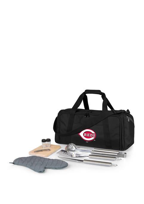 MLB Cincinnati Reds BBQ Kit Grill Set & Cooler