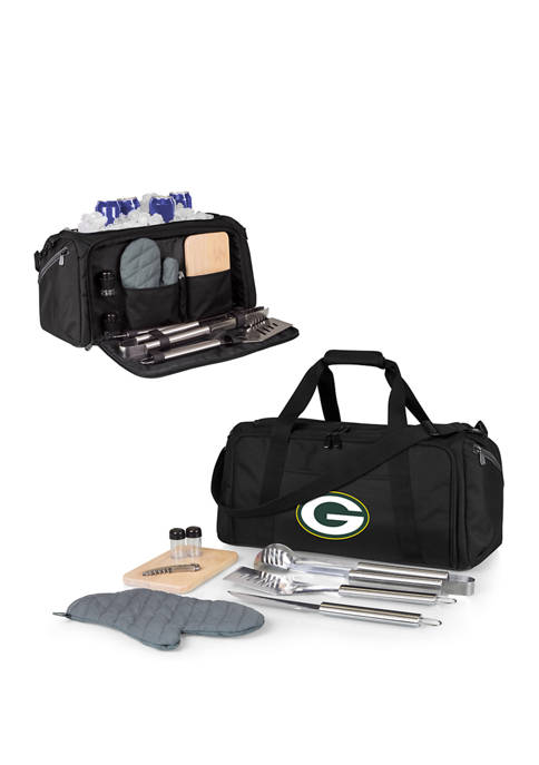 NFL Green Bay Packers BBQ Kit Grill Set & Cooler