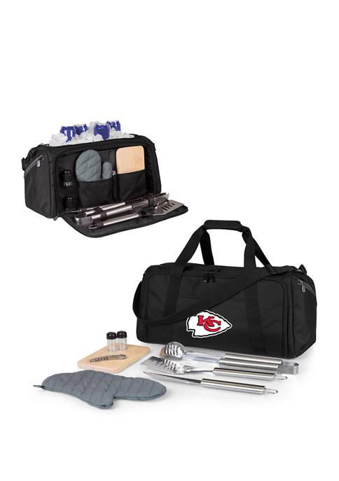 NFL Kansas City Chiefs BBQ Kit Grill Set & Cooler
