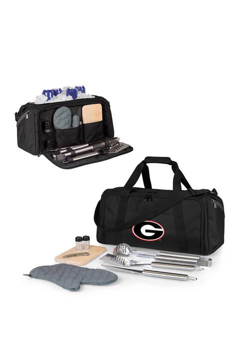 NCAA Georgia Bulldogs BBQ Kit Grill Set & Cooler