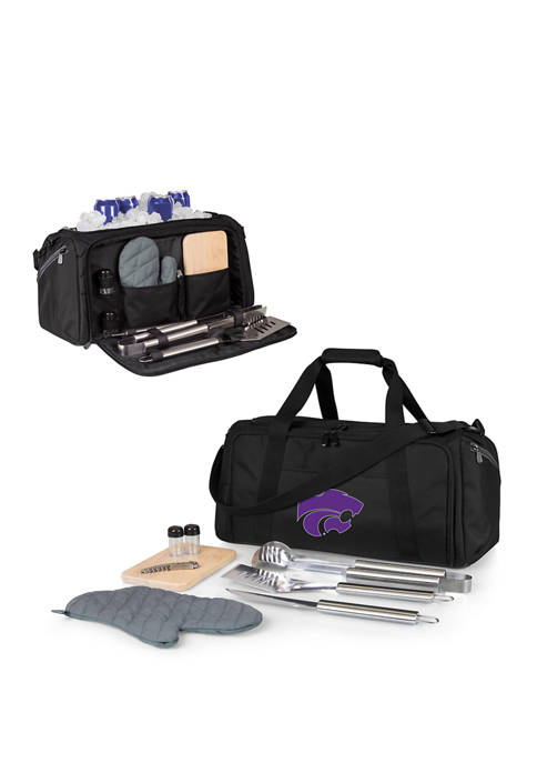 NCAA Kansas State Wildcats BBQ Kit Grill Set & Cooler
