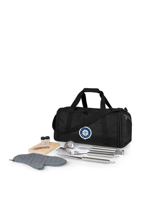 MLB Seattle Mariners BBQ Kit Grill Set & Cooler