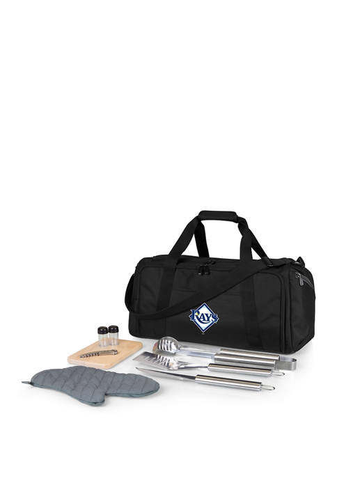 MLB Tampa Bay Rays BBQ Kit Grill Set & Cooler