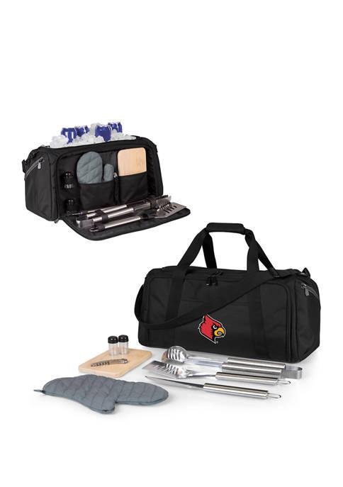 NCAA Louisville Cardinals BBQ Kit Grill Set & Cooler