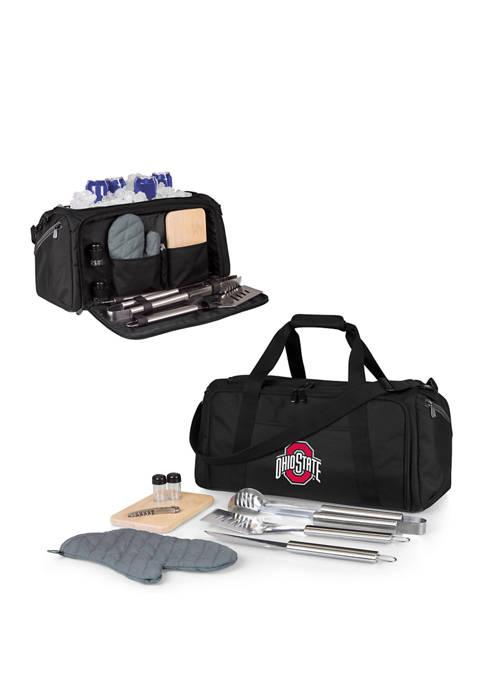 NCAA Ohio State Buckeyes BBQ Kit Grill Set & Cooler