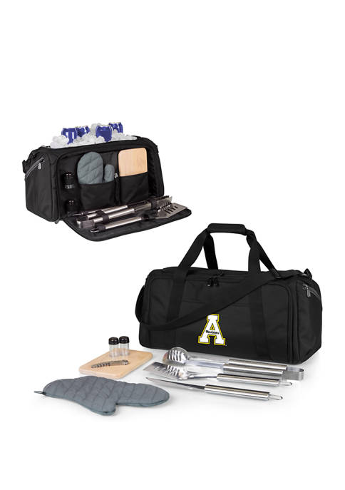 NCAA Appalachian State Mountaineers BBQ Kit Grill Set & Cooler