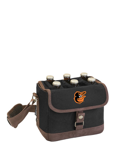 MLB Baltimore Orioles Beer Caddy Cooler Tote with Opener