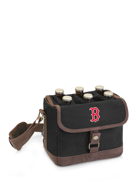 MLB Boston Red Sox Beer Caddy Cooler Tote with Opener