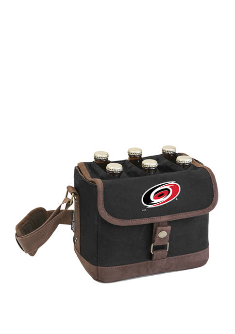 NHL Carolina Hurricanes Beer Caddy Cooler Tote with Opener