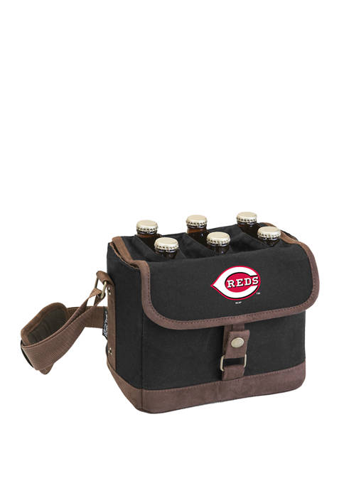 MLB Cincinnati Reds Beer Caddy Cooler Tote with Opener