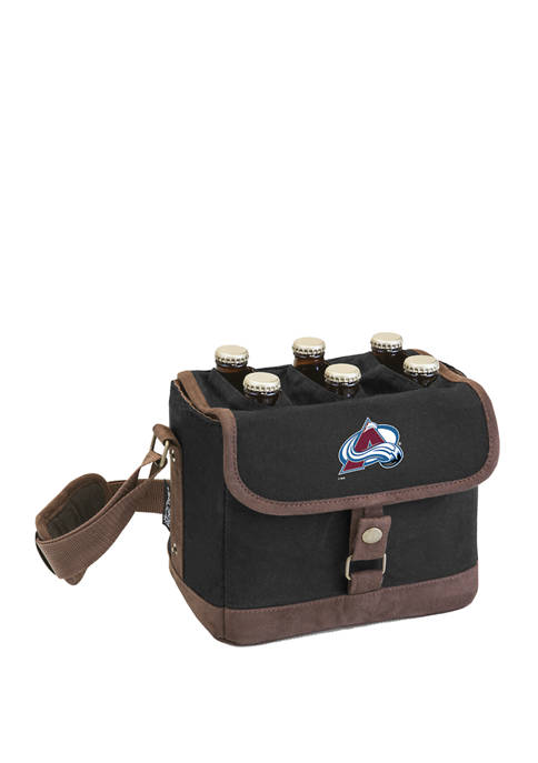 NHL Colorado Avalanche Beer Caddy Cooler Tote with Opener