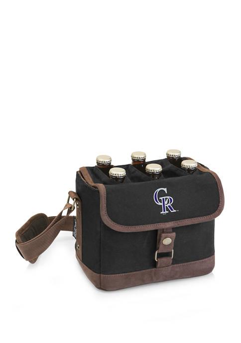 MLB Colorado Rockies Beer Caddy Cooler Tote with Opener