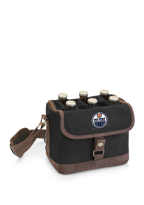 NHL Edmonton Oilers Beer Caddy Cooler Tote with Opener