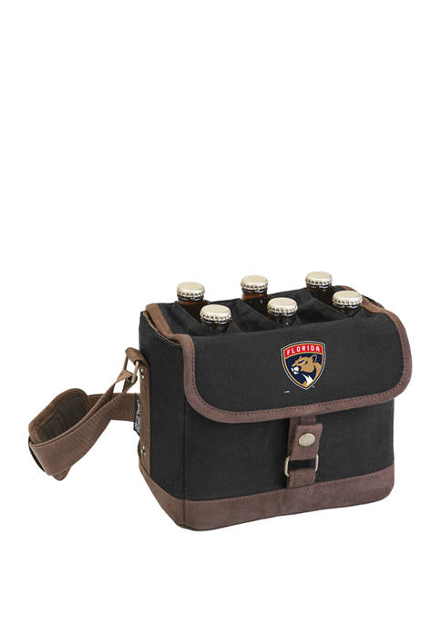 NHL Florida Panthers Beer Caddy Cooler Tote with Opener