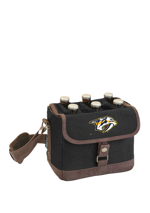 NHL Nashville Predators Beer Caddy Cooler Tote with Opener