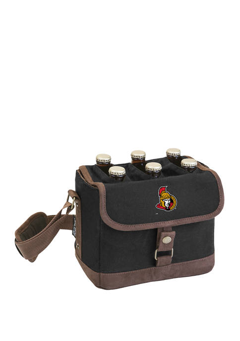 NHL Ottawa Senators Beer Caddy Cooler Tote with Opener