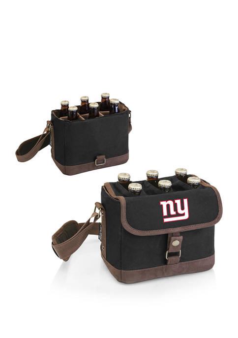 NFL New York Giants Beer Caddy Cooler Tote with Opener