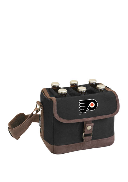 NHL Philadelphia Flyers Beer Caddy Cooler Tote with Opener