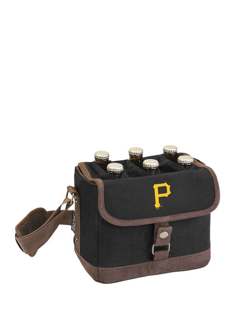 MLB Pittsburgh Pirates Beer Caddy Cooler Tote with Opener