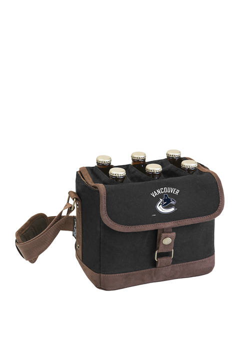 NHL Vancouver Canucks Beer Caddy Cooler Tote with Opener
