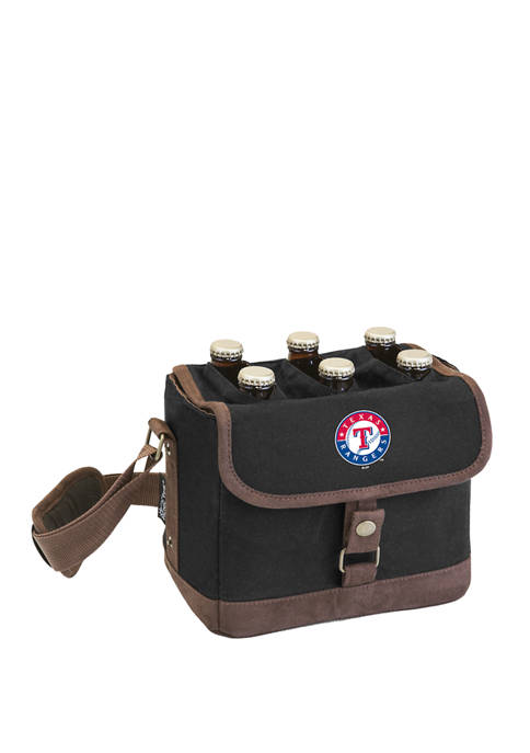 MLB Texas Rangers Beer Caddy Cooler Tote with Opener