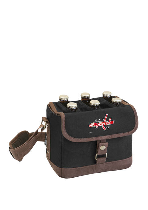 NHL Washington Capitals Beer Caddy Cooler Tote with Opener