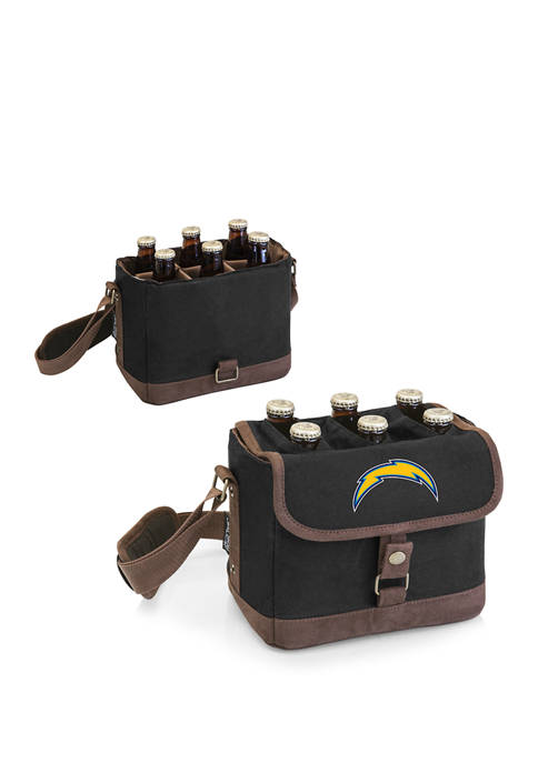 NFL Los Angeles Chargers Beer Caddy Cooler Tote with Opener