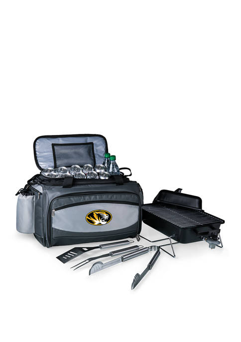 NCAA Mizzou Tigers Vulcan Portable Propane Grill & Cooler Tote