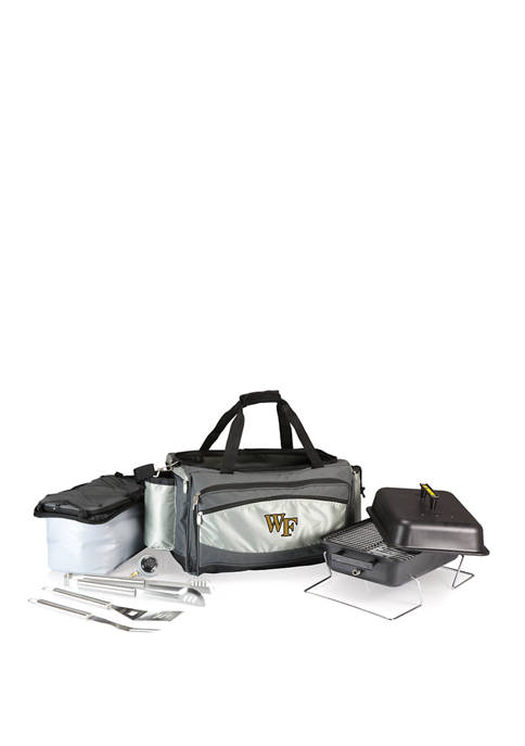 NCAA Wake Forest Demon Deacons Vulcan Portable Propane Grill & Cooler Tote