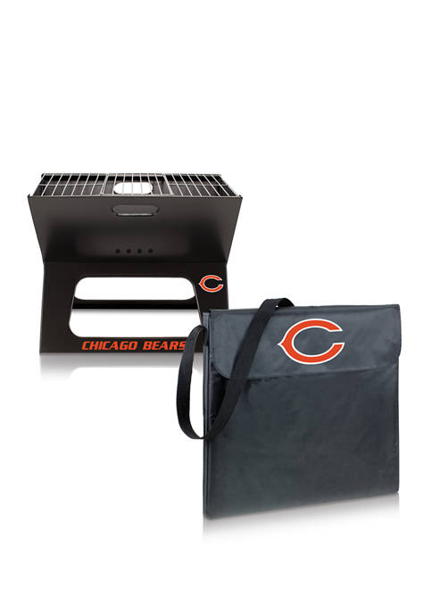 NFL Chicago Bears X-Grill Portable Charcoal BBQ Grill