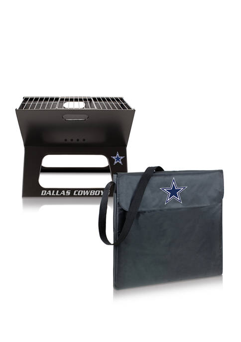ONIVA NFL Dallas Cowboys X-Grill Portable Charcoal BBQ