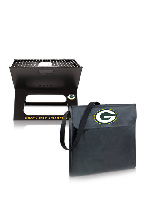 ONIVA NFL Green Bay Packers X-Grill Portable Charcoal