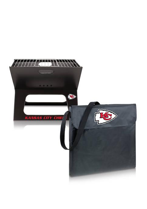 ONIVA NFL Kansas City Chiefs X-Grill Portable Charcoal