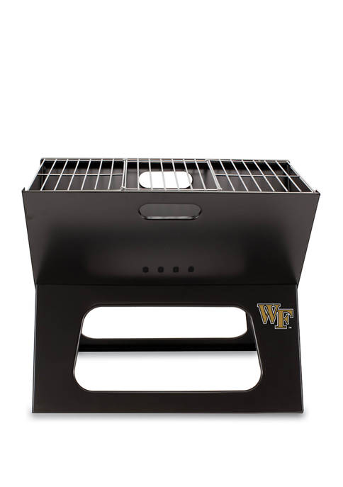 NCAA Wake Forest Demon Deacons X-Grill Portable Charcoal BBQ Grill